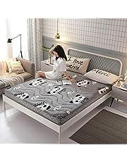 K.LSX Japanse Tatami matras, 10 cm dikker opvouwbare vloer Futon matrassen Ultra zachte ademende slaapkussen vloer bedden
