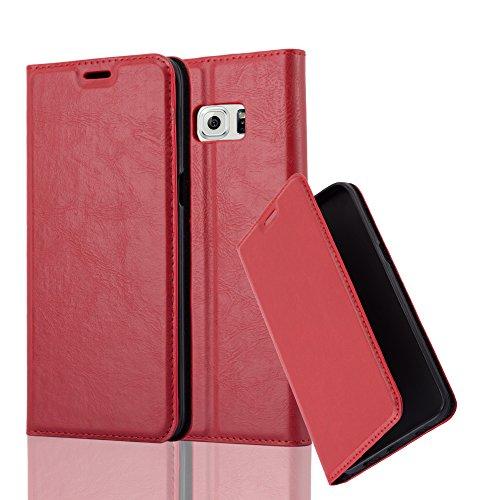 Cadorabo - Funda Book Style Cuero Sintético en Diseño Libro para >                          Samsung Galaxy S6 EDGE PLUS                          <