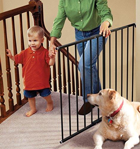 KidCo Safeway Hardware Mount Safety Gate - Black (Kidco Baby Gate Extension)