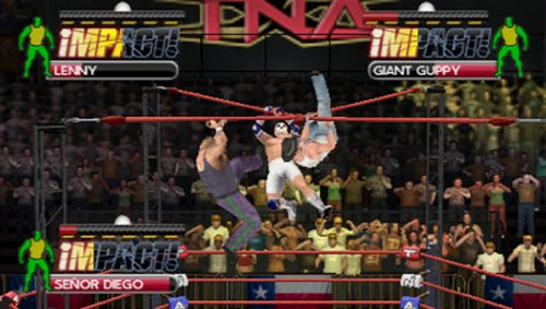 Amazon Com Tna Impact Cross The Line Video Games