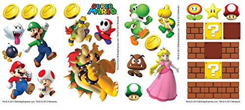 Super Mario Room Decor - Small Wall Decals