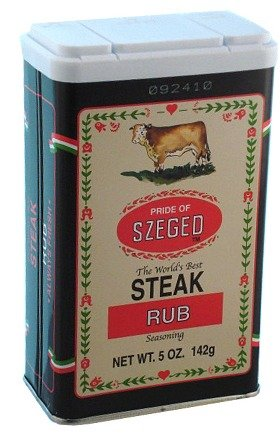 Szeged Steak Rub Seasoning ( 5 Oz / G ) 142