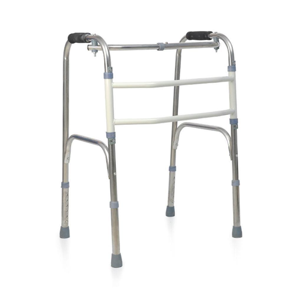 Amazon.com: Jiaminmin Walker - Andador plegable de acero ...