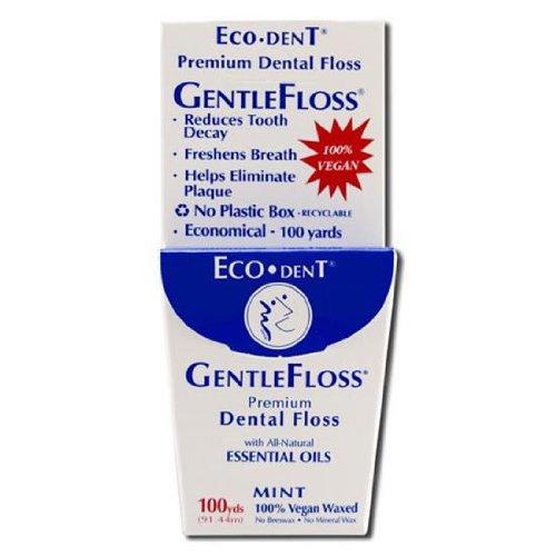 (Eco Dent Floss Gentle Mint 100yd)
