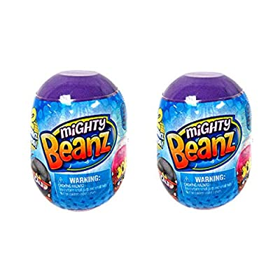 Moose Toys Mighty Beanz 2 Pack Pod Capsule (2 Packs): Toys & Games