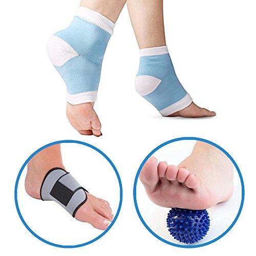 footspa-pro-5-piece-plantar-fasciitis-kit-gel-plantar-fasciitis-sleeve-foot-arch-support-massage-bal