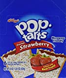 Pop-Tarts Breakfast Toaster Pastries, Frosted Strawberry Flavored, Bulk Size, 144 Count (Pack of 12, 22 oz Boxes)