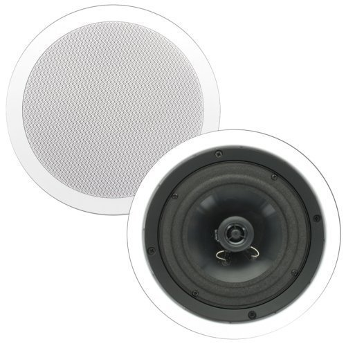 Theater Solutions CS6C 6.5 -Inch In Ceiling Surround Home Theater Contractor Pair by Theater Solutions