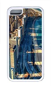 Chicago Beach Custom iPhone 5C Case Cover TPU White