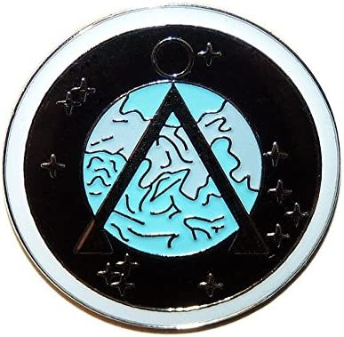 Stargate SG-1 Project Earth Logo Symbol Pin: Amazon ca: Luggage & Bags