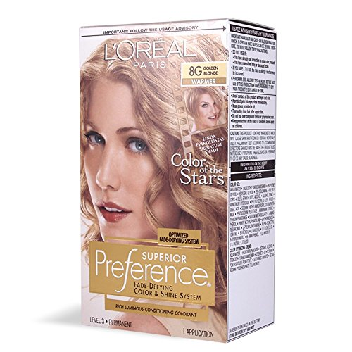 Loreal Superior Preference Golden Blonde