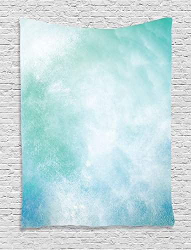 Ambesonne Turquoise Collection Abstract Tapestry
