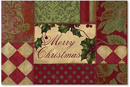 Merry Christmas Patchwork I