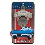 Chevrolet Blue Corvette Bottle Opener