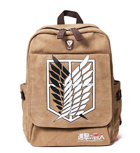 Boys Bookbag School Women Backpacks Chirdren Titan G Girls Attack Bag Men Bags Supplies Sunkee Student On For Shoulder Teenagers Anime tnw8OWSq