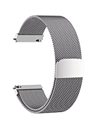 7 Colors for Quick Release Watch Band, Fullmosa Milanese Stainless Steel Watch Band Replacement Strap for 14mm 16mm 18mm 19mm 20mm 22mm 23mm 24mm