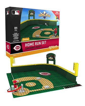 Oyo Sportstoys MLB Cincinnati Reds Home Run Derby Set with Minifigure, Small, White