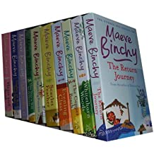 Maeve Binchy collection 10 Books set. (The return Journey, Whitethorn woods, the cooper beech, evening class, scarlet feather, minding Frankie, this year it will be different, nights of rain and stars and heart and soul)