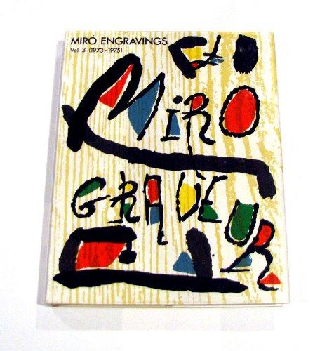 Miro Abstract Painting - Miro Engravings V 3 1973-1975 (Miro Engravings, 1973-1975, 1973-1975)
