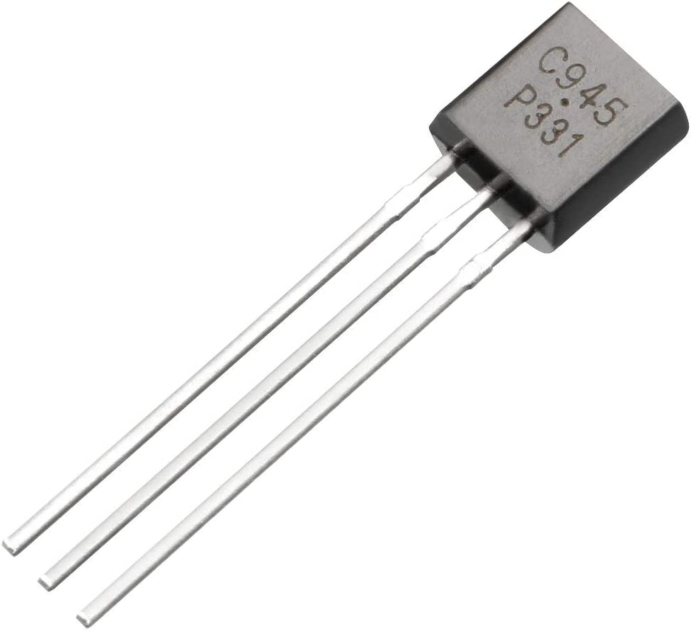 uxcell C945 Transistor Plastic-Encapsulate Power TO-92 NPN 50V 0.15A 400mW 30pcs