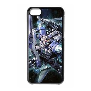 Gundam iPhone 5c Cell Phone Case Black DIY Ornaments xxy002-9190361