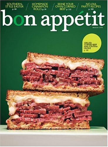 Bon Appetit Print Magazine