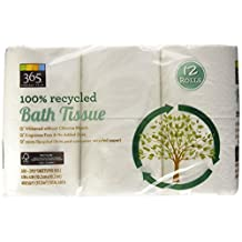 365 Everyday Value 100% Recycled Bath Tissue, 12 Count