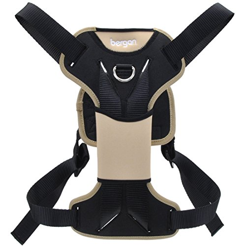 Bergan 88200-tabsml Auto Dog Safety Harness With Tether For 10-25 Lbs, Small
