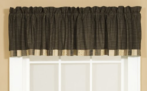 VHC Brands 7201 Kettle Grove Valance Block Border 16x72