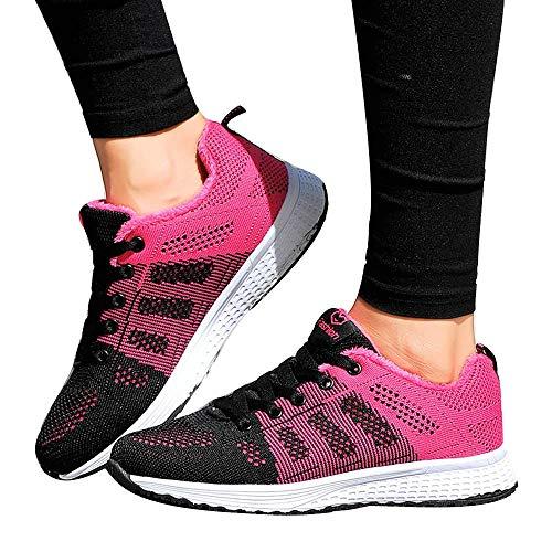 Clearance Sale! Oliviavan Women's Casual Running Sneakers Lightweight Gym Sneakers Yoga Sneakers -