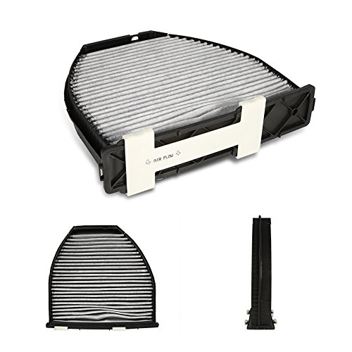 Qiilu Car Cabin Air Filter For Mercedes Benz AMG GT S C250 C300 Includes Activated Carbon (CUK29005) by Qiilu (Image #5)