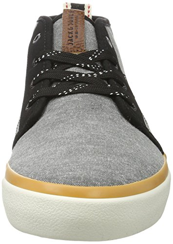 JACK & JONES Herren Jfwmajor Textile Mix Anthracite High-Top Grau (Anthracite)