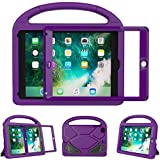 eTopxizu Kids Case for iPad Mini 1 2 3 - Light Weight Shock Proof Handle Stand Cover Case with Built-in Screen Protector for iPad Mini 1/iPad Mini 2/iPad Mini 3 - Purple