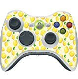 Lemon Lemon Lemons and More Lemons Pattern Xbox 360 Wireless Controller Vinyl Decal Sticker Skin by Moonlight Printing