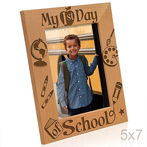 (Kate Posh - My First Day of School Picture Frame (5x7)