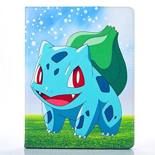 iPad Air 2 Case, Phenix-Color Pokemon Go Premium Flip Stand PU Leather Shell Case for Apple iPad Air 2 / iPad6 (#07) Photo