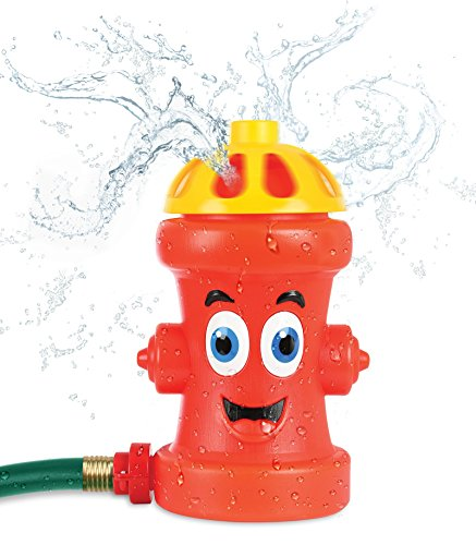 Fire Hydrant Dog Toy (Kleeger Fire Hydrant Sprinkler Toy For Kids: Family Summer Outdoor Game, Water Sprinkler Splash Toy)