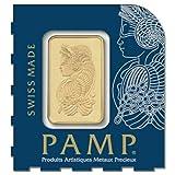 PAMP Suisse 1 Gram .9999 Gold Bar - Fortuna