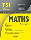 Maths TSI 1re Année Programme 2013