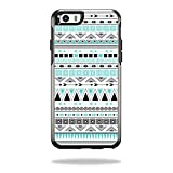 MightySkins Protective Vinyl Skin Decal for OtterBox Symmetry iPhone 6/6S wrap cover sticker skins Turquoise Tribal