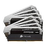 CORSAIR DOMINATOR PLATINUM 64GB (8x8GB) DDR4 2400MHz C14 Desktop Memory