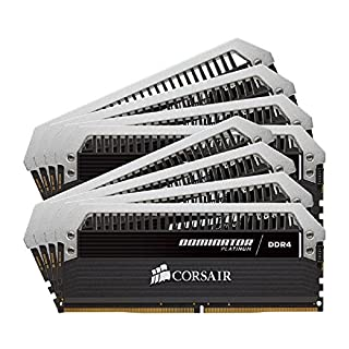 CORSAIR Dominator Platinum 64GB (8x8GB) DDR4 2666MHz C15 Desktop Memory (B00Q85WL8U) | Amazon price tracker / tracking, Amazon price history charts, Amazon price watches, Amazon price drop alerts