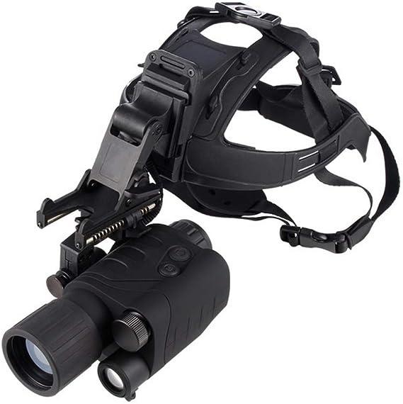 Unj Nachtsichtgerät Mini Portable Infrarot Nachtsichtgerät Digital Nachtsichtgerät Mit Helm Ir Night Vision Monocular Für Bootfahren Erholung Astronomie Naturbeobachtung Und Camping Sport Freizeit