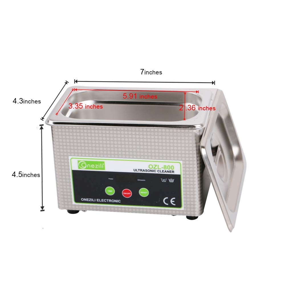 Onezili 800m Professional Digital Ultrasonic Cleaner How Do I Choose The Best Circuit Board With Picture Sonic Wave Smart For Jewelry Glasses Intelligent Control