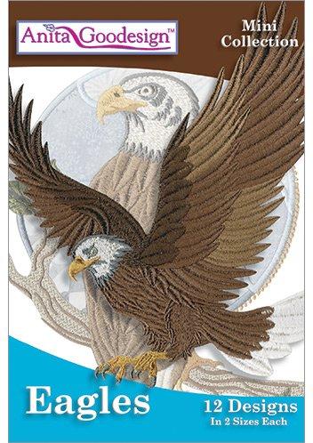 Amazon.com: Anita Goodesign Embroidery Designs Eagles