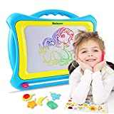 Balnore Magnetic Drawing Board 16 Inch Multi-Colors Drawing Screens Write and Learn Creative Toy