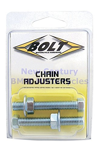 Bolt MC Hardware Chain Adjuster Nut and Bolt Assembly 2006-CH