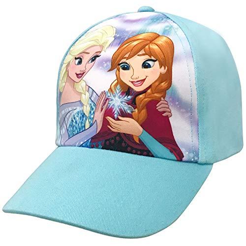 Disney Frozen Girls Anna and Elsa Character Baseball Cap Age 4-7 ()