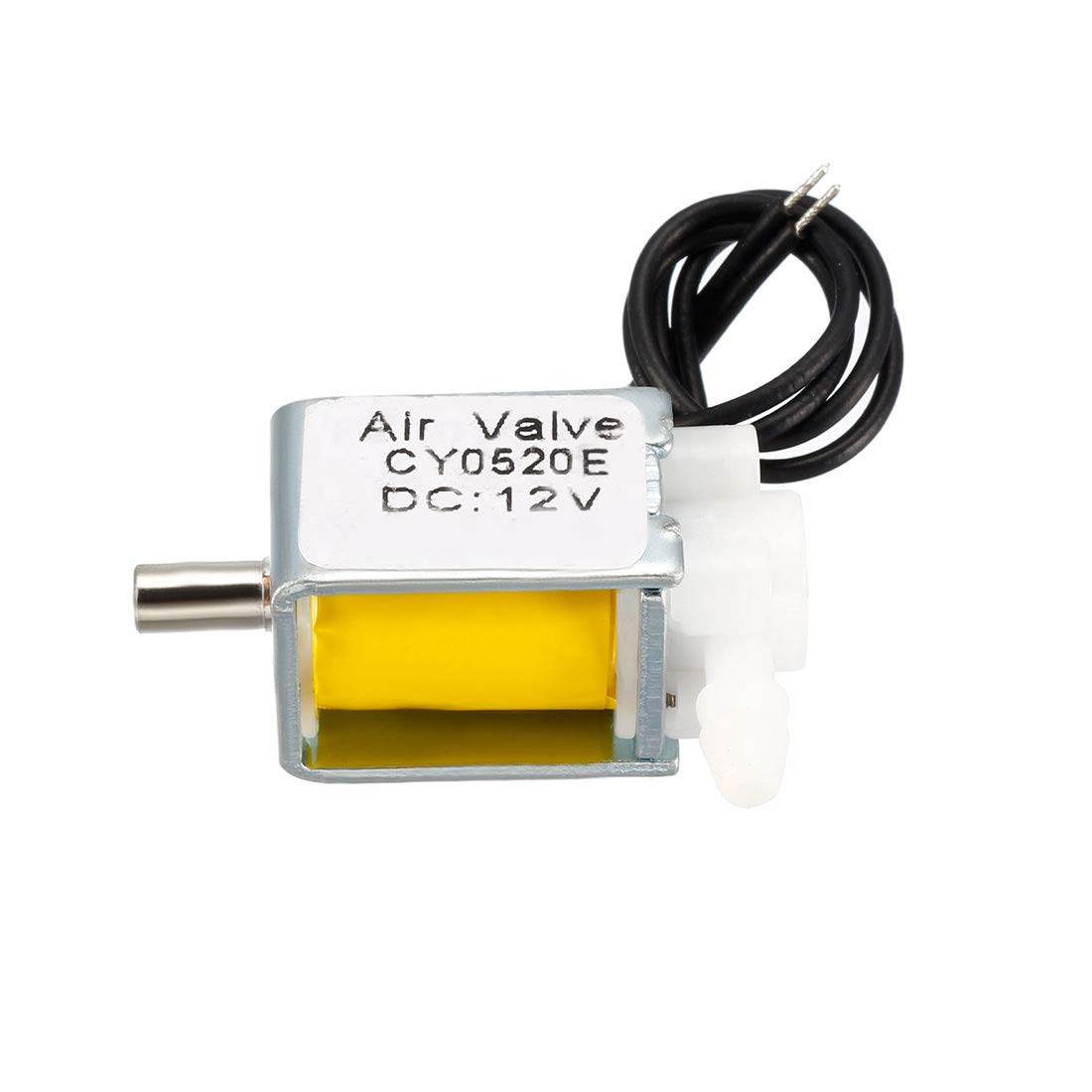 uxcell Miniature Solenoid Valve 2 Position 3 Way DC12V 0.2A Air Solenoid Valve