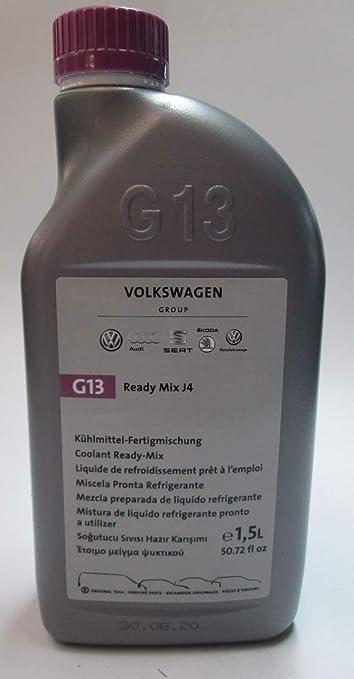 Original Volkswagen G13 Kühlflüssigkeit Kühlmittel Ready Mix J4 Vw Audi Seat Skoda 1 5l Fertigmischung G013040m2 Auto